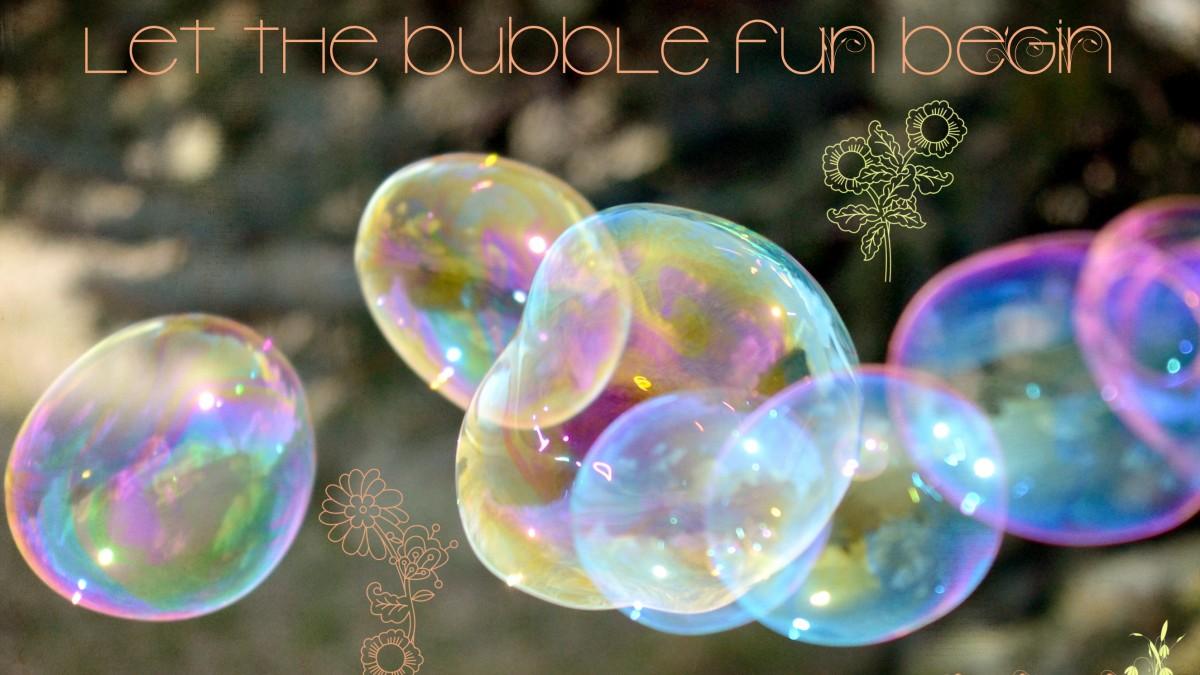 Bảo vệ bong bóng nhé!